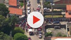 De acordo com o primeiro policial a entrar na escola em Suzano, já haviam corpos no chão