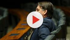 Bolsonaro compartilha vídeo em que filho mostra indignação com STF