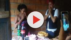 Menina de família carente ganha festa surpresa de 15 anos