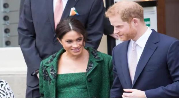 Meghan Markle and Prince Harry receive special delivery