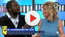 Susanna Griso se engancha con Bertrand Ndongo