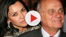 Viúva de Boechat parabeniza a filha pelo aniversário com vídeo do marido