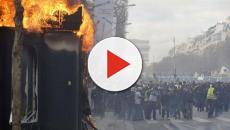 Gilets jaunes : dégradations à Paris lors de l'acte XVIII du mouvement
