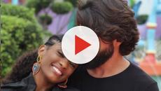 Erika Januza é vítima de racismo após publicar rara foto com o namorado: 'vergonha'