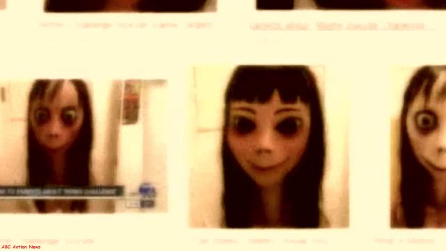 Boneca Momo invade vídeos infantis e ensina as crianças como se matar