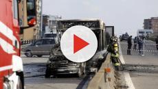 Milano: sfiorata la strage, un uomo dirotta un autobus e poi gli da fuoco