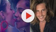 Festa no BBB19: Alberto dá beijo em Rízia mas os dois acabam afastados