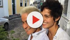 Nanda Costa faz pedido de casamento em libras para a namorada