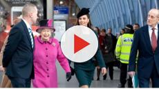 Queen Elizabeth II and Kate Middleton step out for first-ever joint appearance