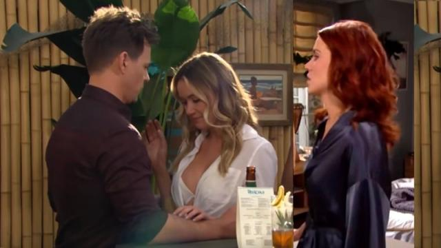 The Bold and the Beautiful: Brooke Witnesses Taylor Kissing Ridge