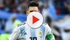 Una sobrecarga muscular impide a Messi acabar el entrenamiento con la selección argentina