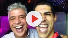 Ex de Lulu Santos se casa com bancária e cantor abençoa união dos pombinhos