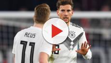 Nationalmannschaft: Pressekonferenz mit Leon Goretzka und Marco Reus vor Niederlande