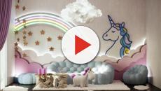 Milano: nasce la Unicorn House, un appartamento arredato a tema unicorno