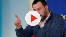 Salvini alla stampa: 'Non mi potete far commentare le caz...'