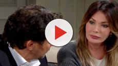 Beautiful, spoiler americani: Taylor dice a Ridge di amarlo e lo bacia, Brooke li spia
