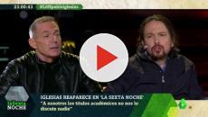 Hilario Pino protagoniza un encontronazo con Pablo Iglesias por su baja de paternidad