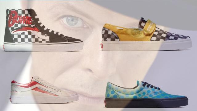 David Bowie, Vans omaggia il Duca Bianco con una linea di scarpe