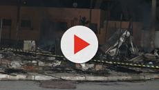 Incêndio na Favela do Cimento provoca morte de um homem