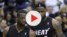 Dwyane Wade defends LeBron against critics, talks about him missing playoffs