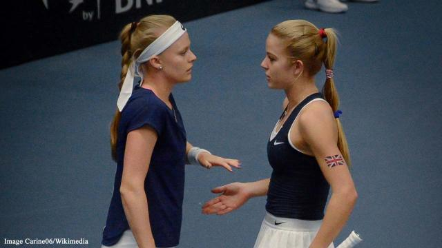 Harriet Dart and Katie Swan achieve 3.0 victory for Britain over Slovenia in Fed Cup