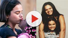 Mãe de Marquezine, Dona Neide, defende a atriz após críticas por viagem à África