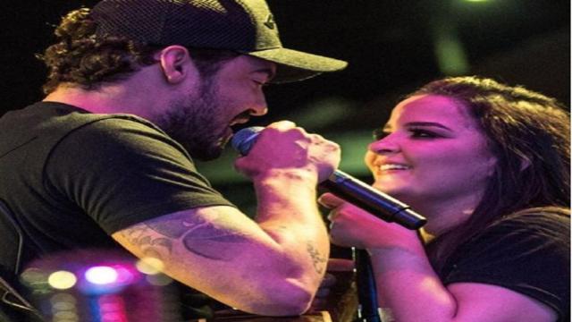 Cantora Maiara brinca com o namorado sertanejo Fernando