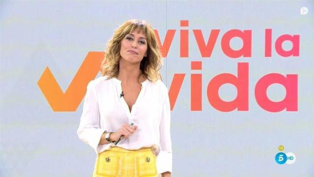 La presentadora Emma García muestra a su hija adolescente en una instántanea