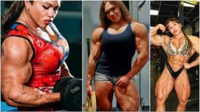 Nataliya Amazonka, une femme aux 90 kilos de muscles