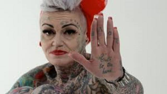 Attention au viellissement des tatouages