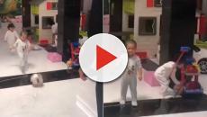 Califican de 'machista' un vídeo de Cristiano Ronaldo con sus nijos mellizos