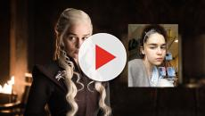 Atriz de 'Game of Thrones', mostra imagens da internação após aneurisma cerebral