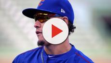 Javier Baez channels Vladdy in latest hit