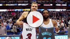 Dirk Nowitzki y Dwayne wade se despiden de la NBA