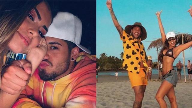 Neymar publica foto com atual de Zé Felipe e cantor fica muito irritado