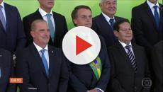 Presidente Jair Bolsonaro confirma a convocação de mil policiais federais