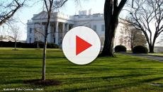 White House on lockdown as man sets fire to himself near the North Lawn