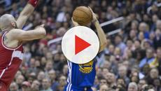 Curry, Russell lead NBA teams to Game 1 wins in 2019 playoffs