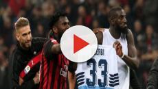 Milan-Lazio, Kessie e Bakayoko mostrano la maglia di Acerbi e scoppia la polemica
