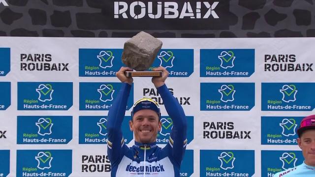 Cyclisme: le top 5 de Paris-Roubaix 2019