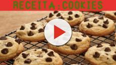 Aprenda a fazer cookies com gotas de chocolate