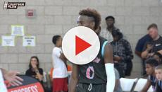 LeBron James Jr. hits game-winning shot