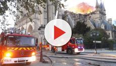Los bomberos de París han logrado contener el incendio en Notre Dame