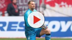 FC Bayern - Manuel Neuer auf Pressekonferenz: