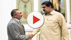 Encontro entre Nicolás Maduro e senador Telmário Motta (PROS) repercutiu no Brasil