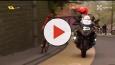 Ciclismo: nella 'Freccia del Barbante' Lippert quasi investita da una moto