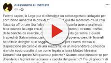 Il caso Siri spacca il governo, Di Battista chiede chiarimenti a Salvini
