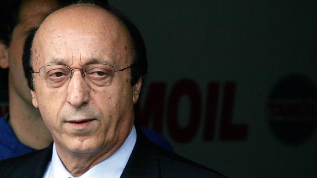 """Luciano Moggi: """"Fallimento progetto Juve? Mi viene da ridere"""""""