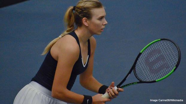 Katie Boulter loses to Yulia Putintseva in Fed Cup World Group II play-off