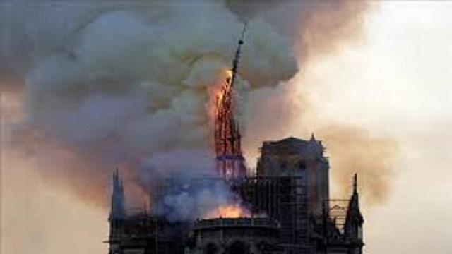 Aun se desconocen las causas del incendio en Notre Dame